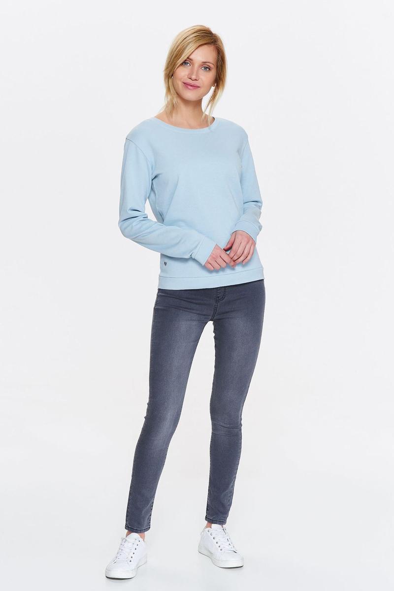 Свитшот женский Drywash, цвет: голубой. DBL0265NI. Размер XL (50)