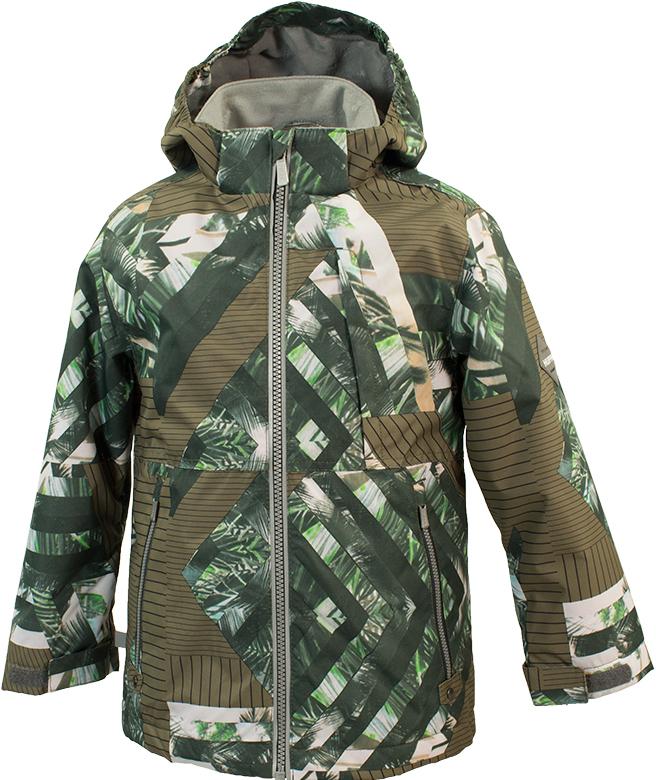 Куртка для мальчика Huppa Trevor 1, цвет: зеленый. 17660104-82307. Размер 15817660104-82307Куртка для мальчиков TREVOR 1. Водо и воздухонепроницаемость 10 000. Состав: Ткань 100% полиэстер, Подкладка флис 100% полиэстер. Утеплитель 40 гр. Отличительные особенности: Карманы на молнии, Эластичный шнур+фиксатор, Отстегивающийся капюшон, Капюшон на резинке, Регулируемые манжеты. Присутствуют светоотражательные детали.