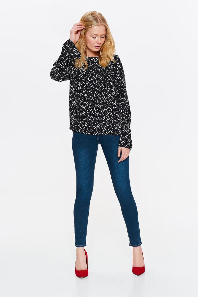 Блузка женская Top Secret, цвет: черный. SBD0802CA. Размер 44 (52)SBD0802CA