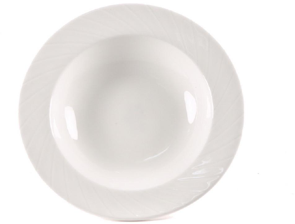 Миска для фруктов Nuova Cer Mayfair, 14 смB1634ROYAL новый уникальный продукт на рынке фарфора производится из материала, в состав которого входит алюминиум (глинозем) в виде порошка, что придаёт фарфору уникальные свойства: белоснежный цвет, как на поверхности, так и на изломе, более тонкие и изящные формы, так как добавление металла делает фарфоровую массу более пластичной, устойчивость к сколам и царапинам. Возможный перепад температур при эксплуатации до 200 градусов! Фарфор покрывается глазурью, что характеризует эту посуду как продукт высшего класса. Идеально подходит для использования в микроволновой печи и посудомоечной машине
