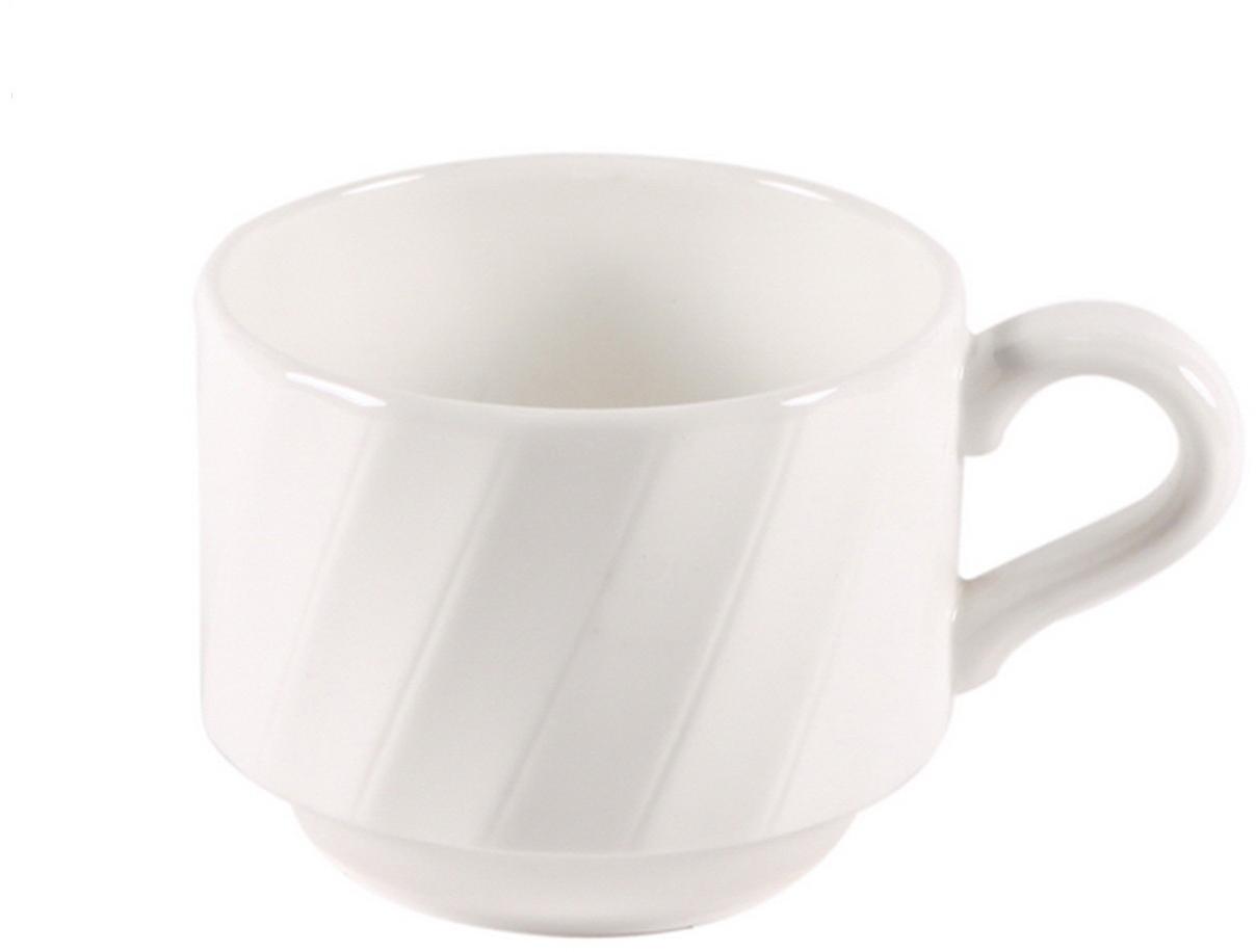 Чашка чайная Nuova Cer Mayfair, цвет: белый, 200 млB1649Чайная чашка Nuova Cer Mayfair- новый уникальный продукт на рынке фарфора производится из материала, в состав которого входит алюминиум (глинозем) в виде порошка, что придаёт фарфору уникальные свойства: белоснежный цвет, как на поверхности, так и на изломе, более тонкие и изящные формы, так как добавление металла делает фарфоровую массу более пластичной, устойчивость к сколам и царапинам. Возможный перепад температур при эксплуатации до 200 градусов! Фарфор покрывается глазурью, что характеризует эту посуду как продукт высшего класса.Идеально подходит для использования в микроволновой печи и посудомоечной машине.