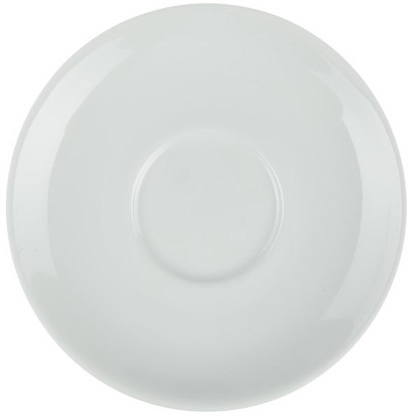 Блюдце под бульонницу Nuova Cer, цвет: белый, диаметр 16 смРП-0207Блюдце под бульонницу Nuova Cer- новый уникальный продукт на рынке фарфора, производится из материала, в состав которого входит алюминиум(глинозем) в виде порошка, что придает фарфору уникальные свойства: белоснежный цвет, как на поверхности, так и на изломе, более тонкие иизящные формы, так как добавление металла делает фарфоровую массу более пластичной, устойчивость к сколам и царапинам.Возможный перепад температур при эксплуатации до 200 градусов!Фарфор покрывается глазурью, что характеризует эту посуду как продукт высшего класса.Идеально подходит для использования в микроволновой печи и посудомоечной машине.