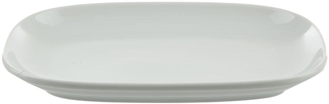 Блюдо Nuova Cer, прямоугольное, цвет: белыйРП-0244Блюдо Nuova Cer- новый уникальный продукт на рынке фарфора, производится из материала, в состав которого входит алюминиум (глинозем) в виде порошка, что придает фарфору уникальные свойства: белоснежный цвет, как на поверхности, так и на изломе, более тонкие и изящные формы, так как добавление металла делает фарфоровую массу более пластичной, устойчивость к сколам и царапинам.Возможный перепад температур при эксплуатации до 200 градусов!Фарфор покрывается глазурью, что характеризует эту посуду как продукт высшего класса.Идеально подходит для использования в микроволновой печи и посудомоечной машине.