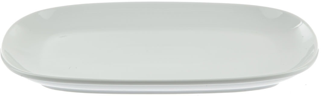 Блюдо Nuova Cer, прямоугольное, цвет: белый, 27 смРП-0245Блюдо Nuova Cer- новый уникальный продукт на рынке фарфора, производится из материала, в состав которого входит алюминиум (глинозем) в виде порошка, что придает фарфору уникальные свойства: белоснежный цвет, как на поверхности, так и на изломе, более тонкие и изящные формы, так как добавление металла делает фарфоровую массу более пластичной, устойчивость к сколам и царапинам.Возможный перепад температур при эксплуатации до 200 градусов!Фарфор покрывается глазурью, что характеризует эту посуду как продукт высшего класса.Идеально подходит для использования в микроволновой печи и посудомоечной машине.