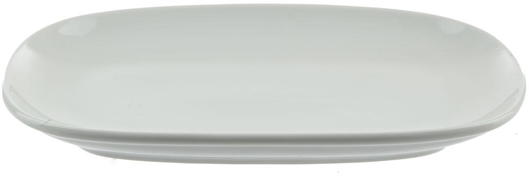 """Блюдо """"Nuova Cer""""- новый уникальный продукт на рынке фарфора, производится из материала, в состав которого входит алюминиум (глинозем) в виде порошка, что придает фарфору уникальные свойства: белоснежный цвет, как на поверхности, так и на изломе, более тонкие и изящные формы, так как добавление металла делает фарфоровую массу более пластичной, устойчивость к сколам и царапинам.  Возможный перепад температур при эксплуатации до 200 градусов!  Фарфор покрывается глазурью, что характеризует эту посуду как продукт высшего класса.  Идеально подходит для использования в микроволновой печи и посудомоечной машине."""