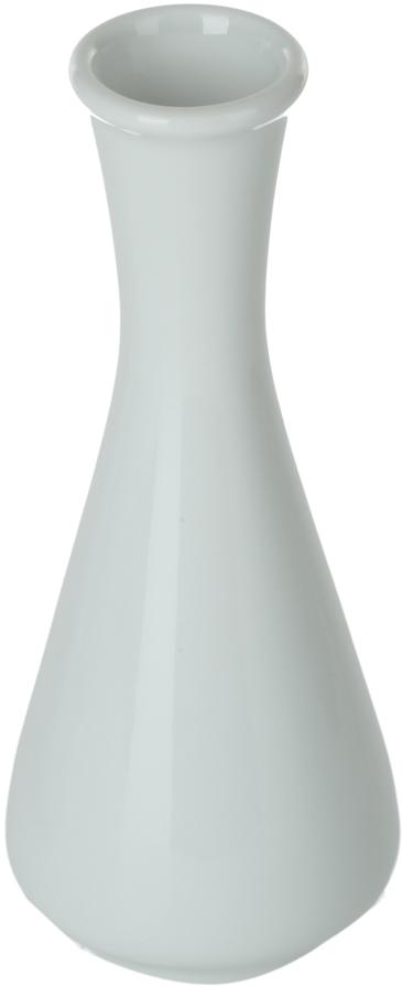 Ваза Nuova Cer, 30 млРП-0257ROYAL новый уникальный продукт на рынке фарфора производится из материала, в состав которого входит алюминиум (глинозем) в виде порошка, что придаёт фарфору уникальные свойства: белоснежный цвет, как на поверхности, так и на изломе, более тонкие и изящные формы, так как добавление металла делает фарфоровую массу более пластичной, устойчивость к сколам и царапинам. Возможный перепад температур при эксплуатации до 200 градусов! Фарфор покрывается глазурью, что характеризует эту посуду как продукт высшего класса. Идеально подходит для использования в микроволновой печи и посудомоечной машине