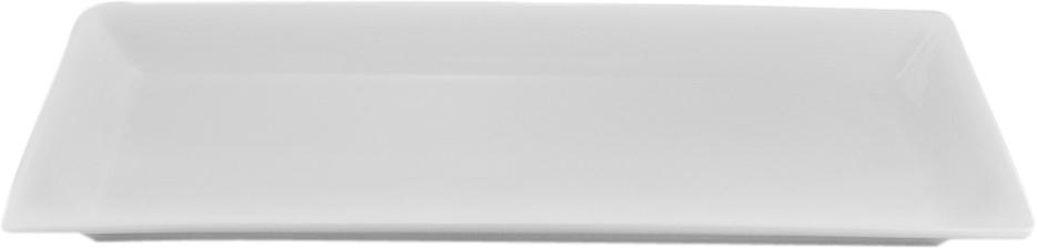 Тарелка Nikko, прямоугольная, 34 х 18 смРП-11700-4718НФарфоровые изделия из Японии маркируются на донышке обозначением«CHINA. Made in Japan». «CHINA» - это международное обозначениевысококачественного фарфора, происходящее от искаженного титулакитайского императора, владеющего монополией на производство фарфора.Обозначение «Bone China» соответствует утонченному и изысканномукостяному фарфору, популярность которого сейчас высока как никогда. Фирма «NIKKO» является одной из самых ведущих фабрик на мировом рынке попроизводству костяного фарфора.Технология изготовления костяного фарфора многоступенчата. В фарфоровуюмассу добавляется костяная мука, что позволяет сделать изделие болеепрочным и тонкостенным. В процессе изготовления костяного фарфора изделия из данного составаподдаются формовке: их можно выполнить тонкостенными, придать различные формы: блюдца сажурным краем, чашки на тонких ножках с витыми ручками. Фарфор фабрики«NIKKO» на 60% изготавливается ручным способом. Костяной фарфор «NIKKO» наиболее совершенный. Среди профессионаловсчитается, что по качеству и красоте аналогов такого фарфора нет. Своимчистым белым цветом и прозрачностью японский фарфор завоевал отличнуюрепутацию и первое место по продажам на мировом рынке.