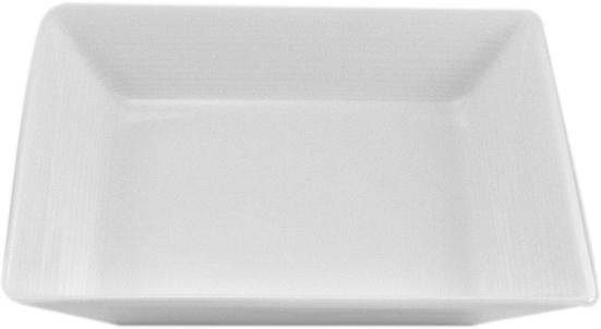 Тарелка Nikko, 14 х 14 смРП-11700-4721НФарфоровые изделия из Японии маркируются на донышке обозначением «CHINA. Made in Japan».«CHINA»-это международное обозначение высококачественного фарфора, происходящее от искаженного титула китайского императора, владеющего монополией на производство фарфора. Обозначение «Bone China» соответствует утонченному и изысканному костяному фарфору, популярность которого сейчас высока как никогда. Фирма «NIKKO» является одной из самых ведущих фабрик на мировом рынке по производству костяного фарфора.Технология изготовления костяного фарфора многоступенчата. В фарфоровую массу добавляется костяная мука, что позволяет сделать изделие более прочным и тонкостенным. В процессе изготовления костяного фарфора изделия из данного состава поддаются формовке: их можно выполнить тонкостенными, придать различные формы: блюдца с ажурным краем, чашки на тонких ножках с витыми ручками. Фарфор фабрики «NIKKO» на 60% изготавливается ручным способом. Костяной фарфор «NIKKO»-наиболее совершенный. Среди профессионалов считается, что по качеству и красоте аналогов такого фарфора нет. Своим чистым белым цветом и прозрачностью японский фарфор завоевал отличную репутацию и первое место по продажам на мировом рынке