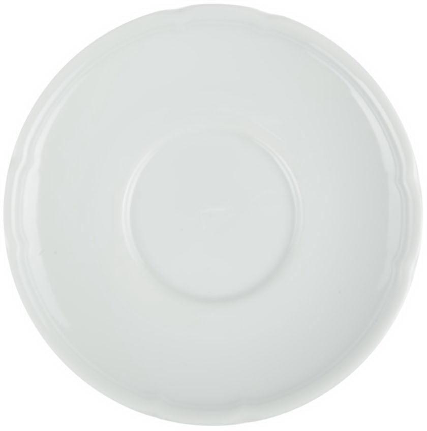 Блюдце кофейное Nuova Cer, цвет: белый, диаметр 12 смРП-3217Блюдце кофейное Nuova Cer- новый уникальный продукт на рынке фарфора, производится из материала, в состав которого входит алюминиум(глинозем) в виде порошка, что придает фарфору уникальные свойства: белоснежный цвет, как на поверхности, так и на изломе, более тонкие иизящные формы, так как добавление металла делает фарфоровую массу более пластичной, устойчивость к сколам и царапинам.Возможный перепад температур при эксплуатации до 200 градусов!Фарфор покрывается глазурью, что характеризует эту посуду как продукт высшего класса.Идеально подходит для использования в микроволновой печи и посудомоечной машине.