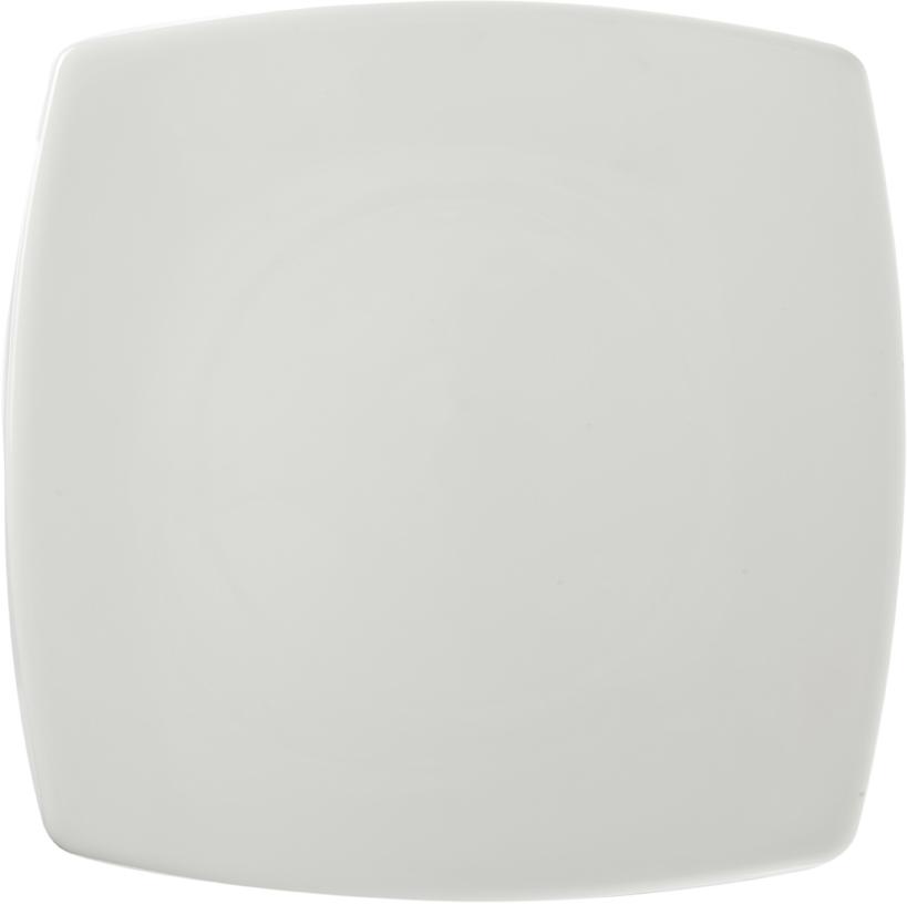 Тарелка Nuova Cer, 30 х 30 смРП-4106ROYAL новый уникальный продукт на рынке фарфора производится из материала, в состав которого входит алюминиум (глинозем) в виде порошка, что придаёт фарфору уникальные свойства: белоснежный цвет, как на поверхности, так и на изломе, более тонкие и изящные формы, так как добавление металла делает фарфоровую массу более пластичной, устойчивость к сколам и царапинам. Возможный перепад температур при эксплуатации до 200 градусов! Фарфор покрывается глазурью, что характеризует эту посуду как продукт высшего класса. Идеально подходит для использования в микроволновой печи и посудомоечной машине