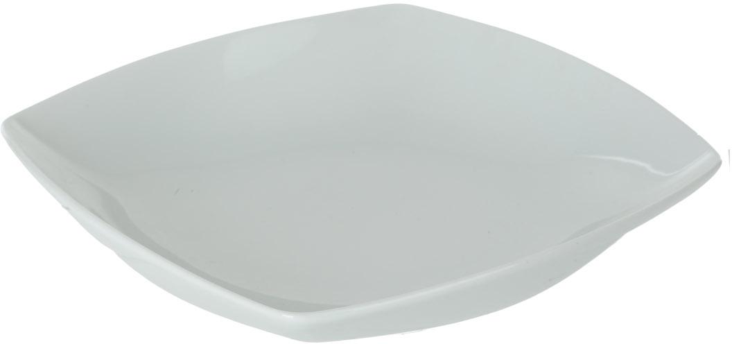 Тарелка глубокая Nuova Cer, 18 х 18 смРП-4124ROYAL новый уникальный продукт на рынке фарфора производится из материала, в состав которого входит алюминиум (глинозем) в виде порошка, что придаёт фарфору уникальные свойства: белоснежный цвет, как на поверхности, так и на изломе, более тонкие и изящные формы, так как добавление металла делает фарфоровую массу более пластичной, устойчивость к сколам и царапинам. Возможный перепад температур при эксплуатации до 200 градусов! Фарфор покрывается глазурью, что характеризует эту посуду как продукт высшего класса. Идеально подходит для использования в микроволновой печи и посудомоечной машине