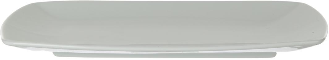 Блюдо Nuova Cer, прямоугольное, цвет: белый, 27 см. РП-4151РП-4151Блюдо Nuova Cer- новый уникальный продукт на рынке фарфора, производится из материала, в состав которого входит алюминиум (глинозем) в виде порошка, что придает фарфору уникальные свойства: белоснежный цвет, как на поверхности, так и на изломе, более тонкие и изящные формы, так как добавление металла делает фарфоровую массу более пластичной, устойчивость к сколам и царапинам.Возможный перепад температур при эксплуатации до 200 градусов!Фарфор покрывается глазурью, что характеризует эту посуду как продукт высшего класса.Идеально подходит для использования в микроволновой печи и посудомоечной машине.
