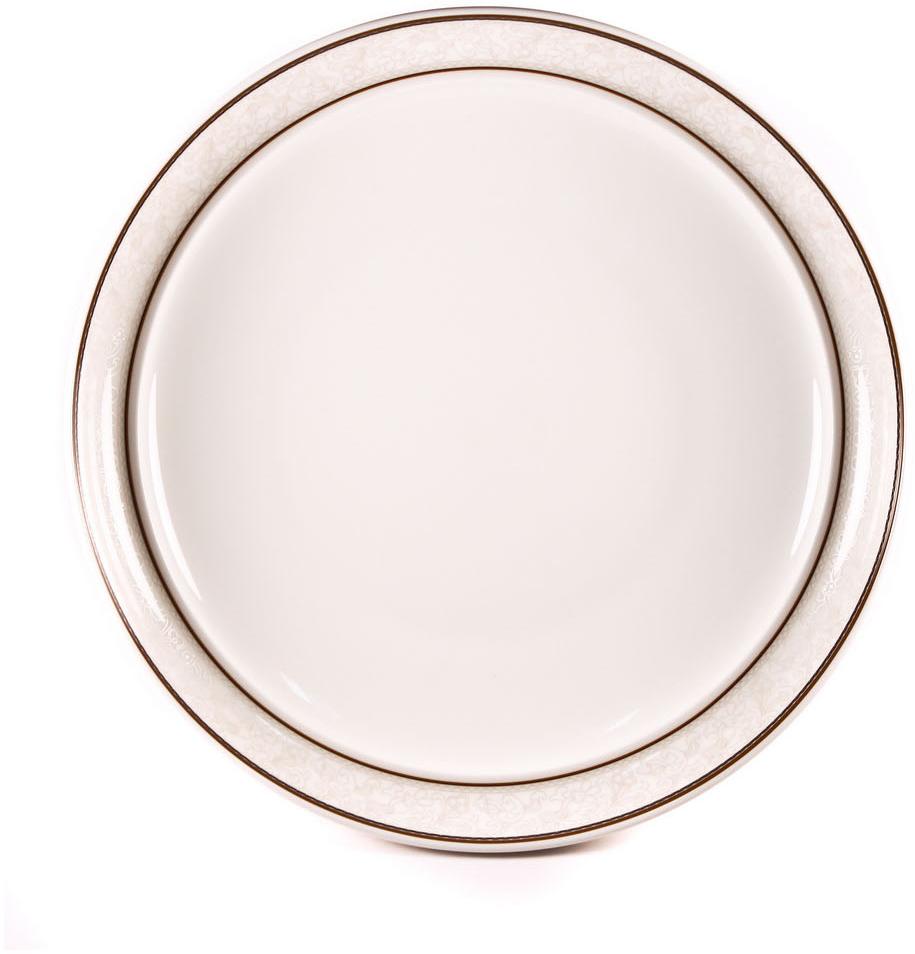 Тарелка для пасты Royal Porcelain Кассие, 30 смРП-CS8709ROYAL новый уникальный продукт на рынке фарфора производится из материала, в состав которого входит алюминиум (глинозем) в виде порошка, что придаёт фарфору уникальные свойства: белоснежный цвет, как на поверхности, так и на изломе, более тонкие и изящные формы, так как добавление металла делает фарфоровую массу более пластичной, устойчивость к сколам и царапинам. Возможный перепад температур при эксплуатации до 200 градусов! Фарфор покрывается глазурью, что характеризует эту посуду как продукт высшего класса. Идеально подходит для использования в микроволновой печи и посудомоечной машине