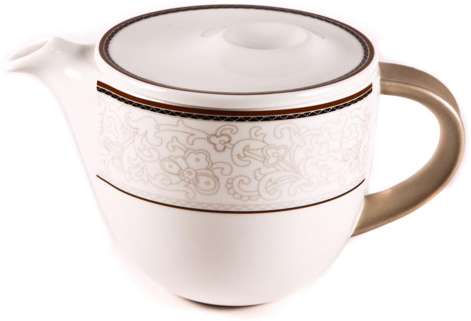 Чайник заварочный Royal Porcelain Кассие, 650 млРП-CS8737Чайник заварочный Royal Porcelain Кассие новый уникальный продукт на рынке фарфорапроизводится из материала, в состав которого входит алюминиум (глинозем) в виде порошка, чтопридает фарфору уникальные свойства: белоснежный цвет, как на поверхности, так и на изломе,более тонкие и изящные формы, так как добавление металла делает фарфоровую массу болеепластичной, устойчивость к сколам и царапинам. Возможный перепад температур приэксплуатации до 200 градусов! Фарфор покрывается глазурью, что характеризует эту посуду какпродукт высшего класса. Идеально подходит для использования в микроволновой печи ипосудомоечной машине