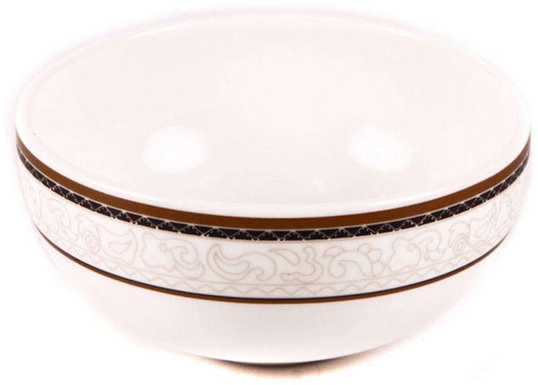 Салатник Royal Porcelain Кассие, 11 смРП-CS8750ROYAL новый уникальный продукт на рынке фарфора производится из материала, в состав которого входит алюминиум (глинозем) в виде порошка, что придаёт фарфору уникальные свойства: белоснежный цвет, как на поверхности, так и на изломе, более тонкие и изящные формы, так как добавление металла делает фарфоровую массу более пластичной, устойчивость к сколам и царапинам. Возможный перепад температур при эксплуатации до 200 градусов! Фарфор покрывается глазурью, что характеризует эту посуду как продукт высшего класса. Идеально подходит для использования в микроволновой печи и посудомоечной машине