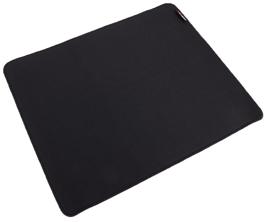 Qcyber Black игровая поверхность010268Игровая поверхность QCYBER имеет универсальный размер, который подойдет всем геймерам! Он не большой и немаленький - 430 на 360 миллиметров.Положив коврик на любую поверхность, сдвинуть его уже будет очень сложно. Все потому что, основу коврика составляет резиновый пласт, который цепляется за все с бешенной силой!Черный классический ковер - как деловой смокинг, он гармонично впишется в любой дизайн рабочей зоны. Что самое главное - какой бы сенсор вы не использовали, поверхность QCYBER BLACK создана для максимальной точности и быстроты скольжения мыши. Теперь вы сможете управлять мышью с точностью до пикселя!Прошитые края игровой поверхности QCYBER BLACK сделаны в угоду долговечности. Благодаря оверлоку, тканевая подложка не будет со временем отслаиваться от резиновой подошвы.