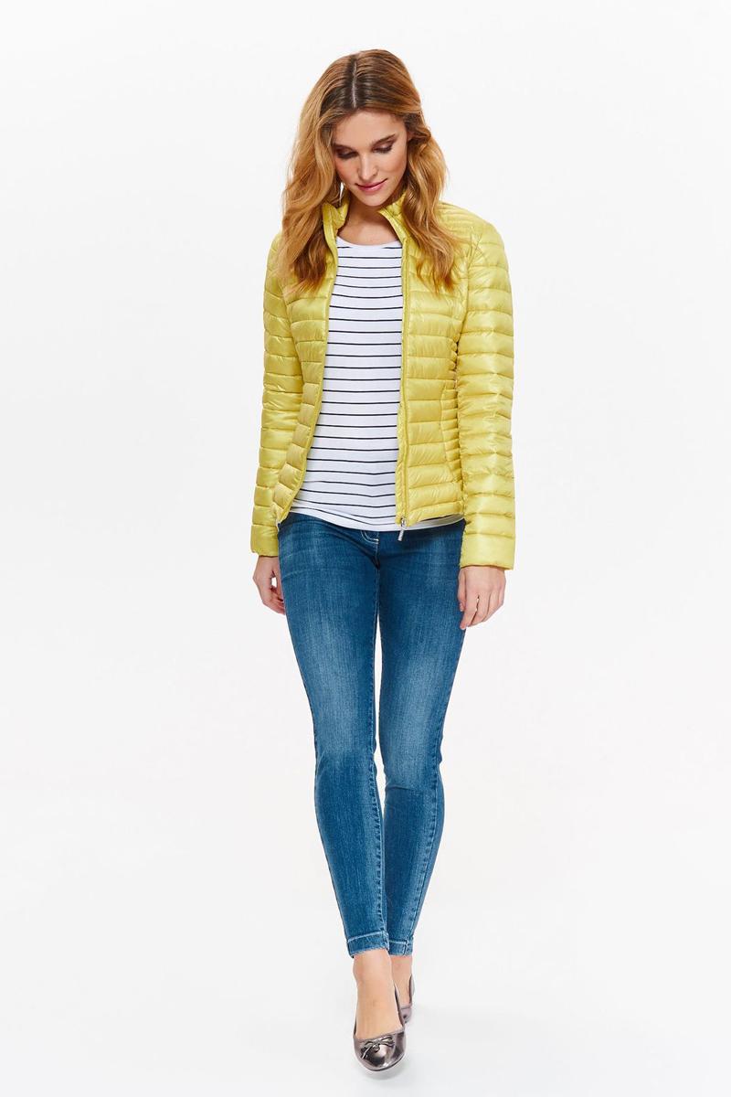 Куртка женская Top Secret, цвет: желтый. SKU0843ZO. Размер 36 (44)SKU0843ZO