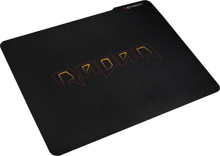 Qcyber Radar игровая поверхность010216QCYBER RADAR, размер 320х250х2,5 мм, поверхность: карбон, основа: натуральный каучук