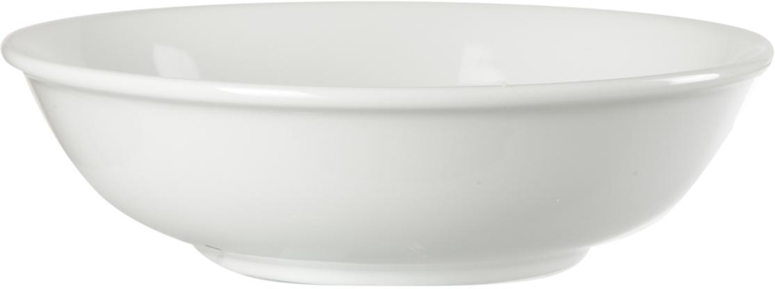 Салатник Nuova Cer, 16,5 смРП-02/0307ROYAL новый уникальный продукт на рынке фарфора производится из материала, в состав которого входит алюминиум (глинозем) в виде порошка, что придаёт фарфору уникальные свойства: белоснежный цвет, как на поверхности, так и на изломе, более тонкие и изящные формы, так как добавление металла делает фарфоровую массу более пластичной, устойчивость к сколам и царапинам. Возможный перепад температур при эксплуатации до 200 градусов! Фарфор покрывается глазурью, что характеризует эту посуду как продукт высшего класса. Идеально подходит для использования в микроволновой печи и посудомоечной машине