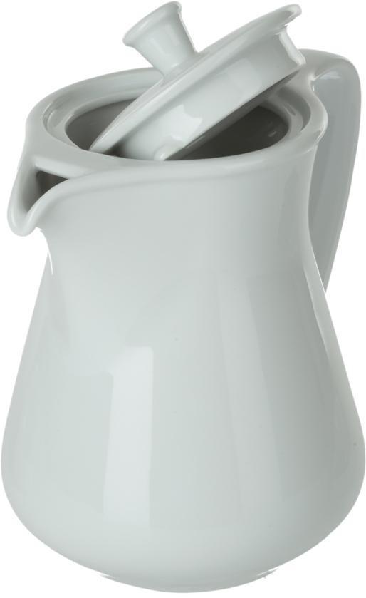 """Кофейник """"Nuova Cer""""- новый уникальный продукт на рынке фарфора, производится из материала, в состав которого входит алюминиум (глинозем) в виде порошка, что придает фарфору уникальные свойства: белоснежный цвет, как на поверхности, так и на изломе, более тонкие и изящные формы, так как добавление металла делает фарфоровую массу более пластичной, устойчивость к сколам и царапинам. Возможный перепад температур при эксплуатации до 200 градусов!  Фарфор покрывается глазурью, что характеризует эту посуду как продукт высшего класса.  Идеально подходит для использования в микроволновой печи и посудомоечной машине."""