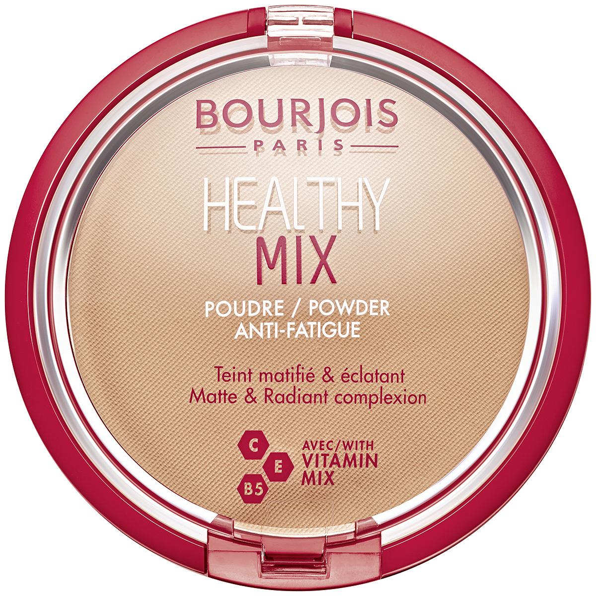 Bourjois Пудра Healthy Mix Тон №4, 11 г bourjois пудра healthy mix 11 г 4 тона 11 г тон 03
