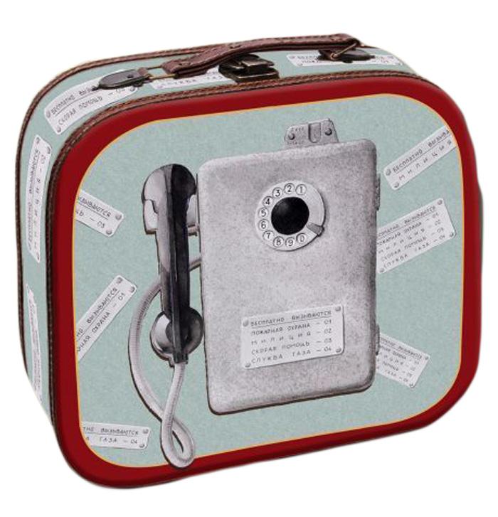 Шкатулка декоративная Magic Home Таксофон, 25 х 20,5 х 9 см шкатулки magic home шкатулка дождь в париже