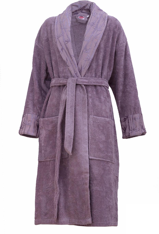 Купить Халат женский Hobby Home Collection Eliza, цвет: фиолетовый. 15010008. Размер L (48/50)