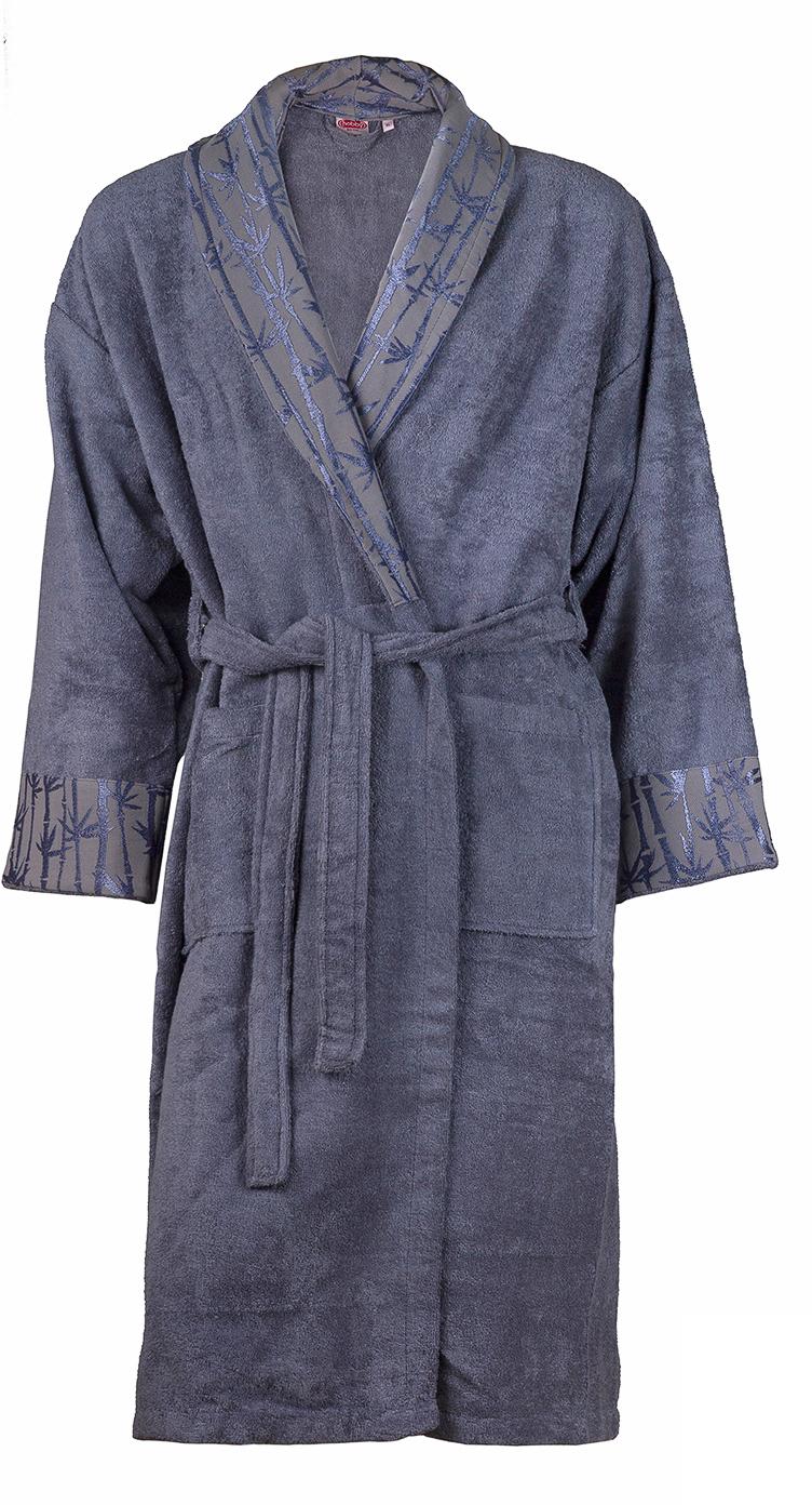 Купить Халат мужской Hobby Home Collection Eliza, цвет: серый. 15010008. Размер L (48/50)