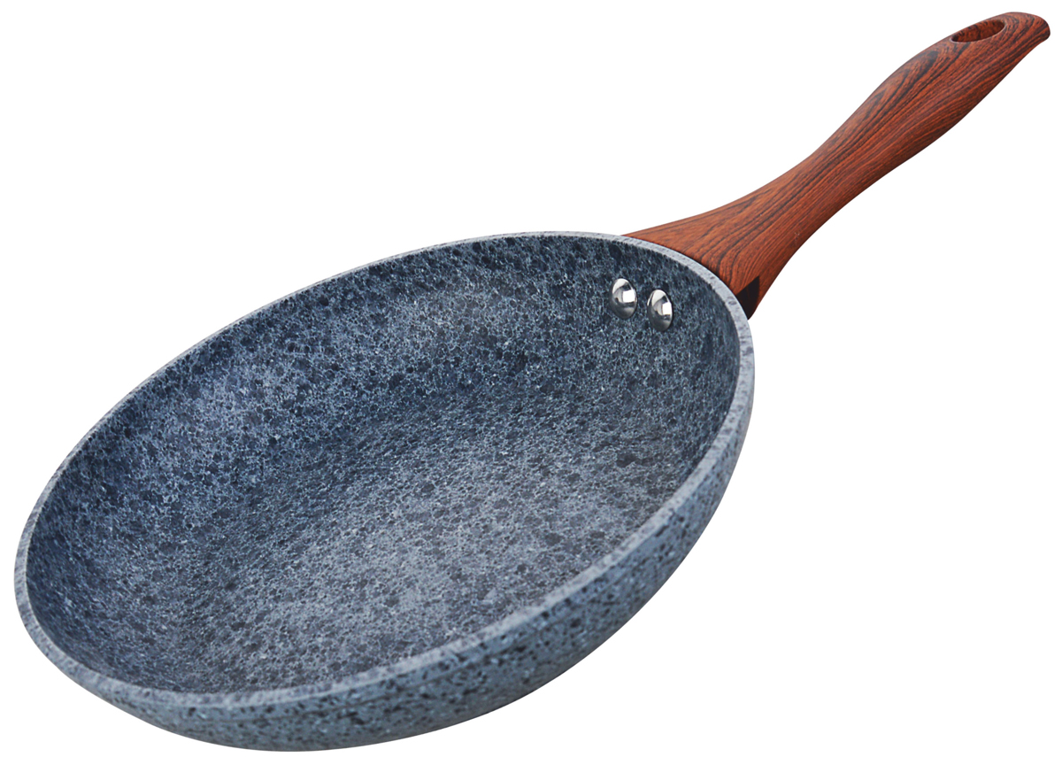 Сковорода Vitesse Granite,  гранитным покрытием. Диаметр 24 см