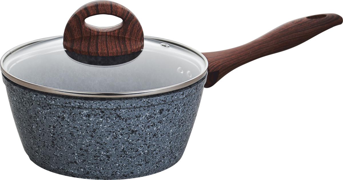 Сотейник Vitesse Granite, с крышкой, цвет: серый, 1,7 лVS-4017Сотейник Vitesse Granite изготовлен из высококачественного кованого алюминия с внутренним гранитным антипригарным покрытием в 3 слоя.Изделие имеет внешнее гранитное термостойкое покрытие. Такое покрытие предотвращает пригорание пищи и ее прилипание к стенкам. Сотейник оснащен бакелитовыми прорезиненными ручками, которые не нагреваются в процессе приготовления пищи и не дают вашимрукам обжечься. Крышка выполнена из жаростойкого стекла.Посуда подходит для газовых, электрических, стеклокерамических, галогенных, индукционных плит. Можно мыть в посудомоечной машине.