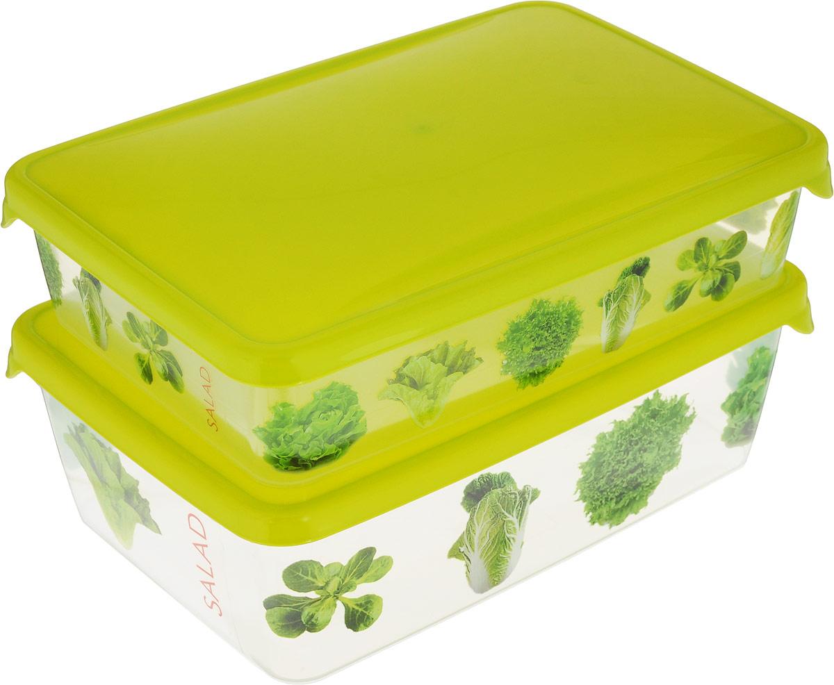 Комплект емкостей для продуктов Giaretti Браво, цвет: прозрачный, салатовый, 2 шт. GR1072МИКСGR1072_салатовыйКомплект емкостей для продуктов Giaretti Браво состоит из 2 контейнеров. Емкости изготовлены из пищевого полипропилена и оснащены крышками, которые плотно закрываются, дольше сохраняя продукты свежими. Боковые стенки прозрачные, что позволяет видеть содержимое.Емкости идеально подходят для хранения пищи, фруктов, ягод, овощей.Такой комплект пригодится в любом хозяйстве. Легкие емкости одинаково удобно взять с собой или хранить продукты дома, замораживать ягоды и овощи небольшими порциями. Тонкий, но вместе с тем прочный пластик обеспечивает надежность изделий.Объем: 900 мл, 1,35 л.
