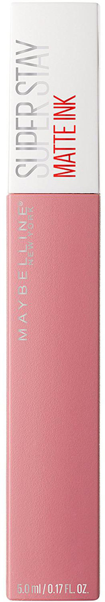 Maybelline New York Суперстойкая жидкая матовая помада для губ Super Stay Matte Ink, оттенок 10, Мечтатель, 5 млB3091900Удобный аппликатор обеспечивает самое точное и простое нанесение. Насыщенные оттенки и матовый финиш – главный тренд этого сезона.