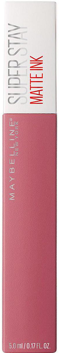 Maybelline New York Суперстойкая жидкая матовая помада для губ Super Stay Matte Ink, оттенок 15, Влюбленный, 5 млB3092000Удобный аппликатор обеспечивает самое точное и простое нанесение. Насыщенные оттенки и матовый финиш – главный тренд этого сезона.