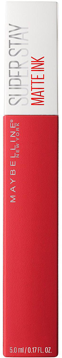 Maybelline New York Суперстойкая жидкая матовая помада для губ Super Stay Matte Ink, оттенок 20, Пионер, 5 млB3092100Удобный аппликатор обеспечивает самое точное и простое нанесение. Насыщенные оттенки и матовый финиш – главный тренд этого сезона.