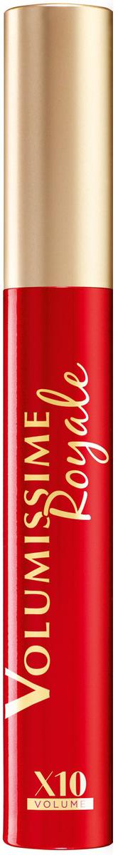 LOreal Paris Тушь для ресниц Volumissime Royale для экстра-объема ресниц, укрепляющая, черная, 8 млA9459200Черная тушь для ресниц Volumissime Royale от LOreal Paris придает ресницам невероятный экстраобъем без утяжеления, делает ресницы более густыми без комочков, без склеивания. Легкая текстура и удобная щеточка обеспечивают ровное покрытие без утяжеления, тушь питает и укрепляем ресницы. Королевское совершенство.