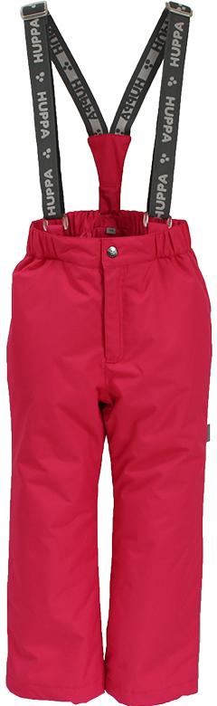 Брюки утепленные детские Huppa Tevin, цвет: фуксия. 21770004-00063. Размер 14021770004-00063Утепленные детские брюки Huppa прямого кроя выполнены из износостойкого полиэстера. Брюки застегиваются на пластиковую молнию и пуговицу. Ткань на талии собрана на внутреннюю резинку. Модель дополнена эластичными подтяжками.