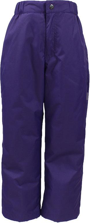 Брюки утепленные детские Huppa Tevin 1, цвет: темно-лиловый. 21770104-70073. Размер 15221770104-70073Утепленные детские брюки Huppa прямого кроя выполнены из износостойкого полиэстера. Брюки застегиваются на пластиковую молнию и пуговицу. Ткань на талии собрана на внутреннюю резинку.
