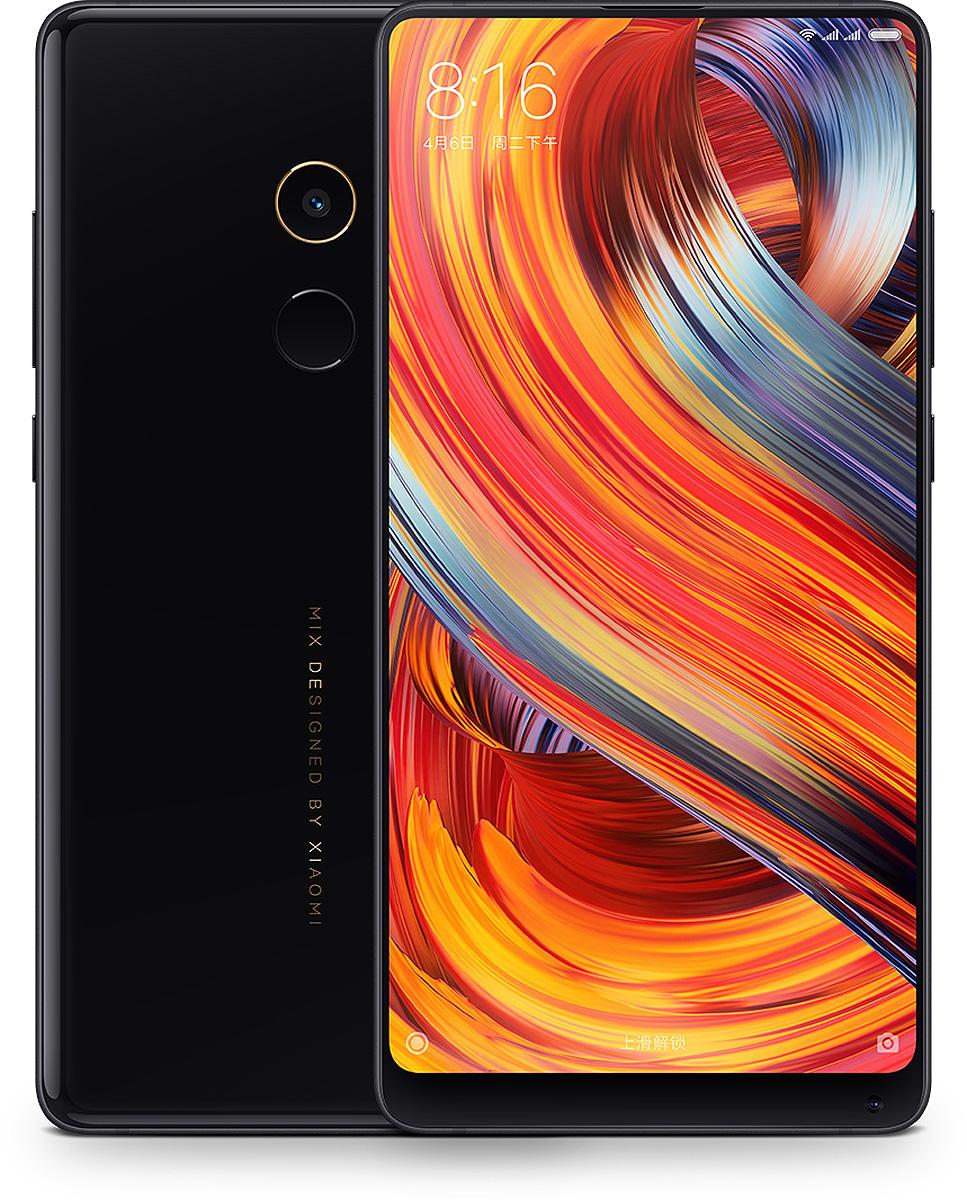 Xiaomi Mi Mix 2, BlackMi_Mix2_64GB_BlackXiaomi Mi Mix 2 - безрамочный смартфон выпущенный чтобы конкурировать с лучшими. Совершенно новый взглядна корпус и внешний облик. Впечатляющие показатели производительности благодаря процессору Snapdragon835 и 6 ГБ оперативной памяти. Компания Xiaomi совершила прорыв в развитии технологий Full Screen. Нижняя рамка экрана теперь занимаетлишь 12%. Благодаря этому мы имеем безупречное изображение с пропорциями 18:9. Наслаждайтесьвпечатлениями на полном экране.Xiaomi объединили новейшие технологии безрамочного экрана и компактный модуль камеры. Благодаря этомуудалось достигнуть невероятного соотношения размера дисплея к площади корпуса. Экран диагональю 5.99уместился в корпусе смартфонов с размером экрана 5.5.Смартфон Mi Mix 2 выглядит как красивый природный камень - гладкий и черный, будто из нефрита. Основнаякамера обрамлена 18-каратным золотом, что добавляет изящества Mi Mix 2.Mi Mix 2 оснащен ультрапроизводительным процессором Qualcomm Snapdragon 835 и 6 ГБ оперативной памяти. Технология распределения информации UFS 2.1 позволяет эффективно использовать внутреннюю память 64ГБ.Mi Mix 2 оснащен системой 4-осевой OIS стабилизации, что позволяет получать потрясающие снимки в яркийсолнечный день, в сумерках, и даже в движении.В Mi Mix 2 использовали цилиндрические динамики нового поколения. Звук стал более чистым и более мощным.Теперь даже на шумной вечеринке ваш собеседник точно услышит вас.Mi Mix 2 поддерживает большинство современных диапазонов сотовой связи. Вы можете быть уверены, чтоостанетесь на связи в любой стране.Телефон сертифицирован EAC и имеет русифицированный интерфейс, меню и Руководство пользователя.