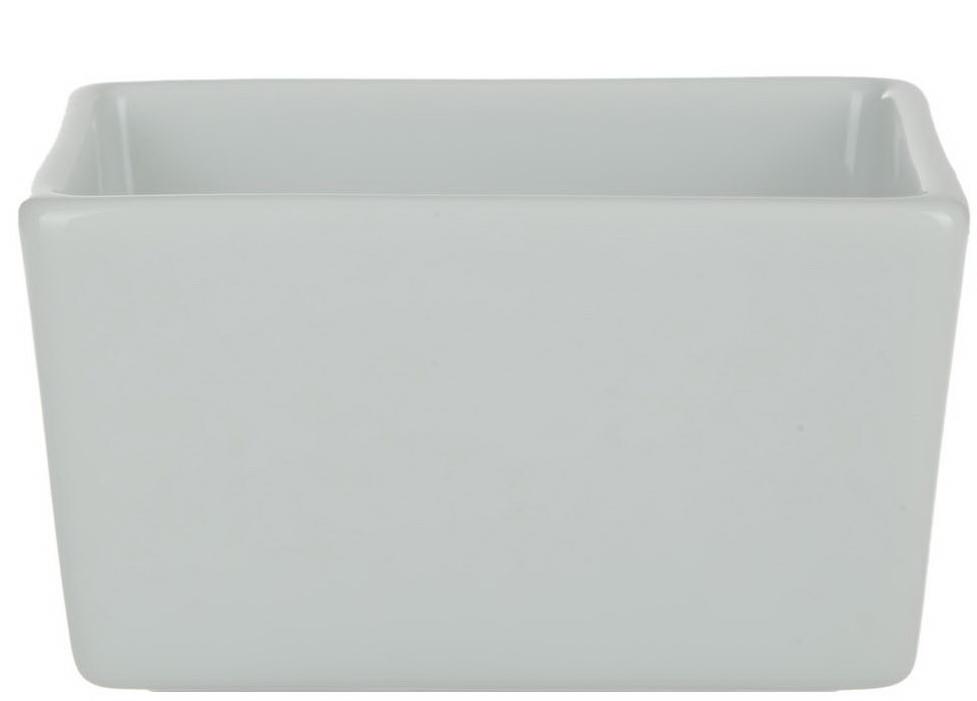 """Контейнер для пакетированного сахара """"Nuova Cer""""- новый уникальный продукт на рынке фарфора, производится из материала, в состав которого входит алюминиум  (глинозем) в виде порошка, что придает фарфору уникальные свойства: белоснежный цвет, как на поверхности, так и на изломе, более тонкие и  изящные формы, так как добавление металла делает фарфоровую массу более пластичной, устойчивость к сколам и царапинам.  Возможный перепад температур при эксплуатации до 200 градусов!  Фарфор покрывается глазурью, что характеризует эту посуду как продукт высшего класса.  Идеально подходит для использования в микроволновой печи и посудомоечной машине."""