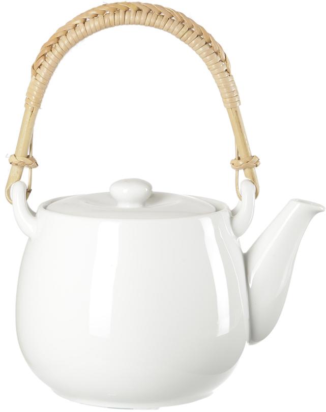 Чайник заварочный Nuova Cer, цвет: белый, 1,2 л чайник заварочный nuova cer итальянские фрукты 1 л