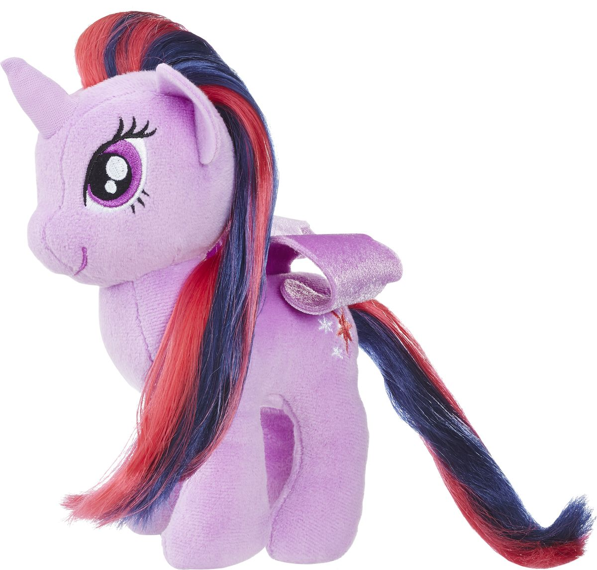 My Little Pony Мягкая игрушка Пони с волосами Twilight Sparkle 19 см детство лидера