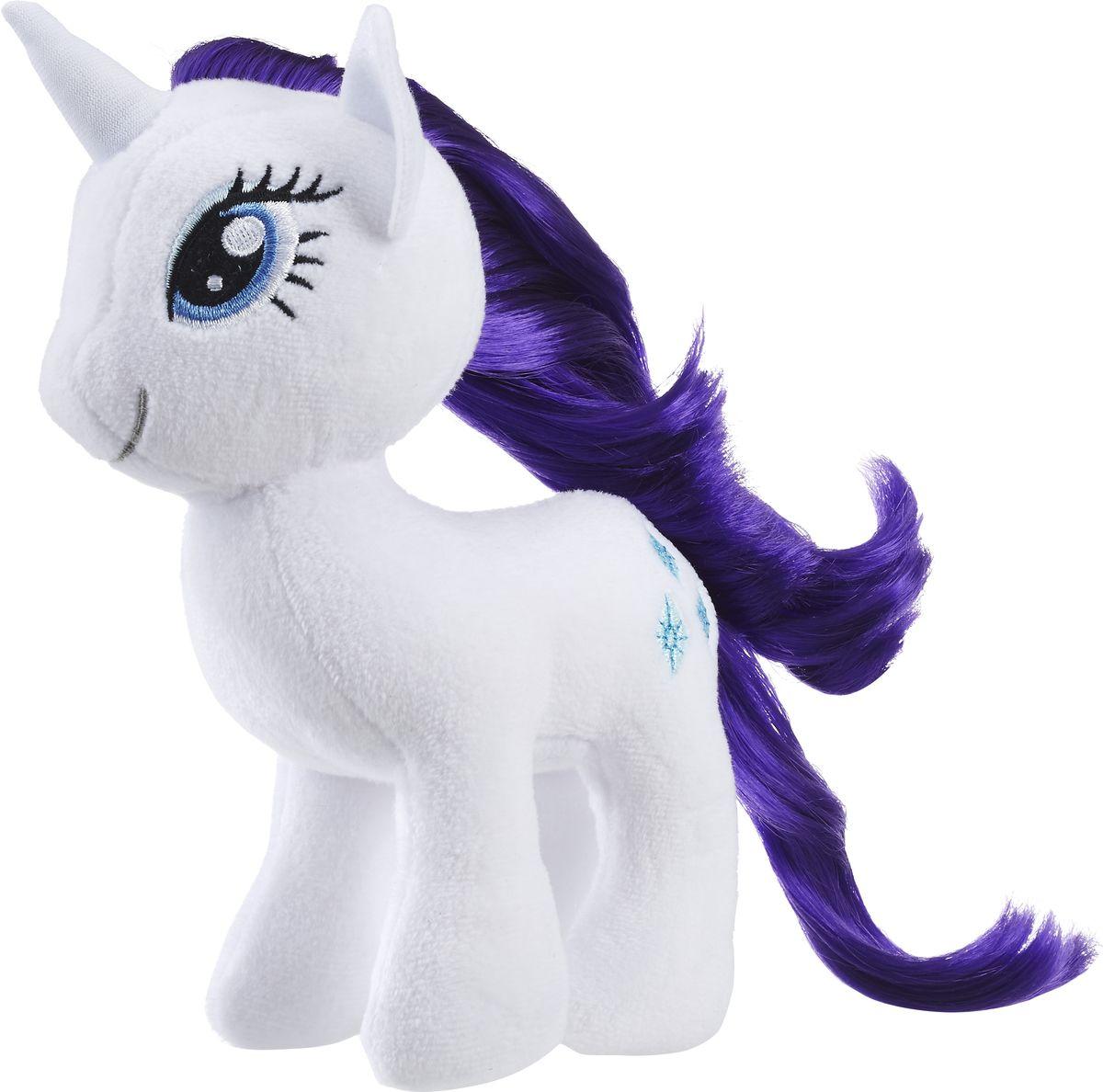 My Little Pony Мягкая игрушка Пони с волосами Rarity 19 см