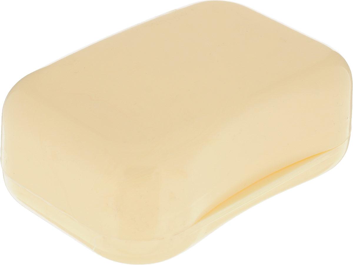 Мыльница Libra Plast, цвет: бежевый. LP0046LP0046_бежевыйПрактичная мыльница Libra Plast - это не только предмет обихода, но и незаменимый спутник в различных поездках. Прочно закрывающаяся крышка надежно сохраняет мыло внутри.