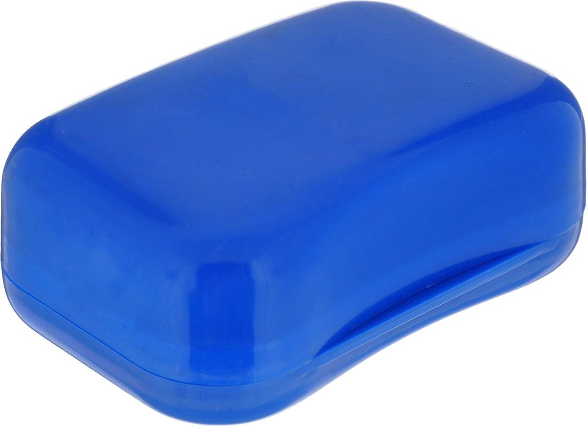 Мыльница Libra Plast, цвет: синий. LP0046LP0046_синийПрактичная мыльница Libra Plast- это не только предмет обихода, но и незаменимый спутник в различных поездках. Прочно закрывающаяся крышка надежно сохраняет мыло внутри.