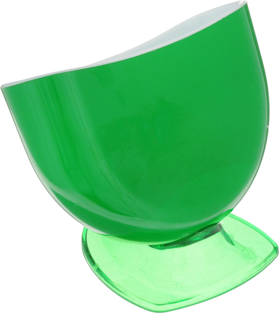 Подставка для губки Libra Plast, цвет: зеленыйLP0037_зеленыйПодставка для губки Libra Plast - это интересное и оригинальное украшение вашей кухни. Она выполнена из пластика.С такой подставкой губка для мытья посуды всегда будет у вас под рукой.Размер подставки (с учетом ножки): 11,5 х 8 х 9 см.