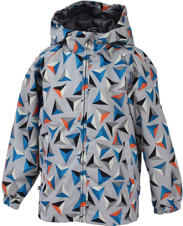 Куртка детская Huppa Classy 1, цвет: светло-серый. 17710010-528. Размер 10417710010-528Детская куртка Huppa изготовлена из водонепроницаемого полиэстера. Куртка с капюшоном застегивается на пластиковую застежку-молнию с защитой подбородка. Высокотехнологичный лёгкий синтетический утеплитель нового поколения сохраняет объём и высокую теплоизоляцию изделия. Края капюшона и рукавов собраны на внутренние резинки. У модели имеются два врезных кармана. Изделие дополнено светоотражающими элементами.Выдерживает температуру до -5°C.