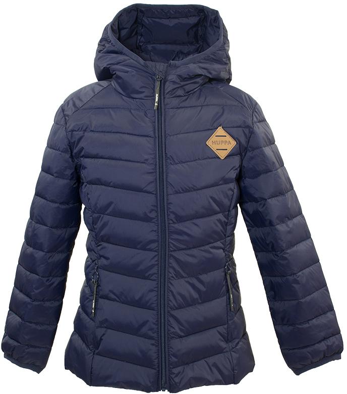 Куртка для девочки Huppa Stenna, цвет: темно-синий. 17980055-00086. Размер 15217980055-00086Стеганая куртка для девочек Stenna. Комфортная модель отлично защищает от ветра и дождя. Подкладка из тафты. Утеплитель из синтетического пуха подходит для прохладной погоды, от -5 до +5°С. Капюшон укреплен резинкой и отделан тканью. Фигурные вырезы по бокам увеличивают ширину обзора. Карманы со скрытыми молниями.