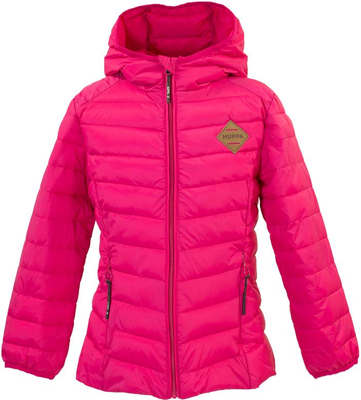 Куртка для девочки Huppa Stenna, цвет: фуксия. 17980055-00063. Размер 14017980055-00063Стеганая куртка для девочек Stenna. Комфортная модель отлично защищает от ветра и дождя. Подкладка из тафты. Утеплитель из синтетического пуха подходит для прохладной погоды, от -5 до +5°С. Капюшон укреплен резинкой и отделан тканью. Фигурные вырезы по бокам увеличивают ширину обзора. Карманы со скрытыми молниями.