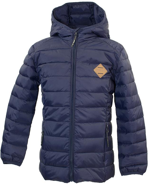Куртка для мальчика Huppa Stevo, цвет: темно-синий. 17990055-00086. Размер 13417990055-00086Стеганая куртка для мальчиков Stevo. Комфортная модель отлично защищает от ветра и дождя. Подкладка из тафты. Утеплитель из синтетического пуха подходит для прохладной погоды, от -5 до +5°С. Капюшон укреплен резинкой и отделан тканью. Карманы со скрытыми молниями. Присутствуют светоотражательные детали.