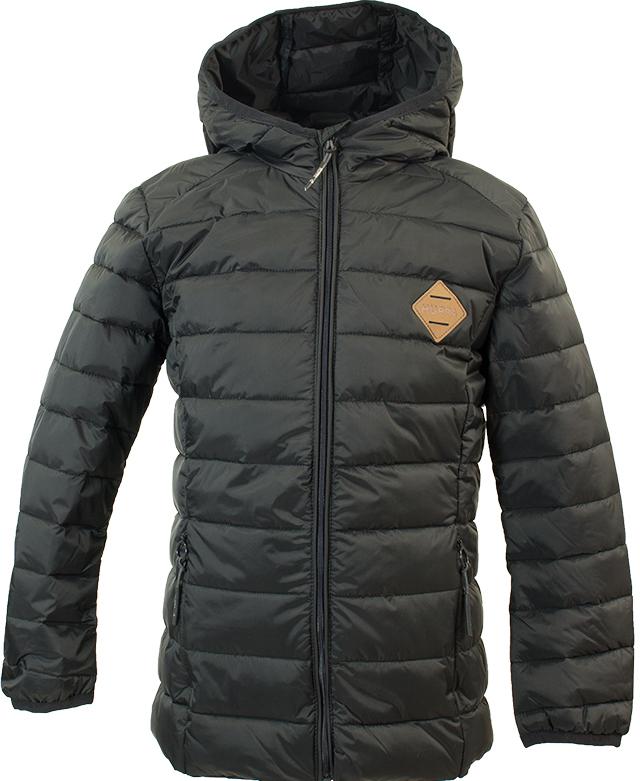 Куртка для мальчика Huppa Stevo, цвет: черный. 17990055-00009. Размер 17017990055-00009Стеганая куртка для мальчиков Stevo. Комфортная модель отлично защищает от ветра и дождя. Подкладка из тафты. Утеплитель из синтетического пуха подходит для прохладной погоды, от -5 до +5°С. Капюшон укреплен резинкой и отделан тканью. Карманы со скрытыми молниями. Присутствуют светоотражательные детали.